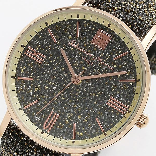 (~8/31) MARRA サルバトーレマーラ 腕時計 レディース SALVATORE MARRA 替えベルト付き クオーツ 腕時計 SM18115-PGBR ブラウン/ブラウン レディース, 前田かしわ店:ae453732 --- officewill.xsrv.jp