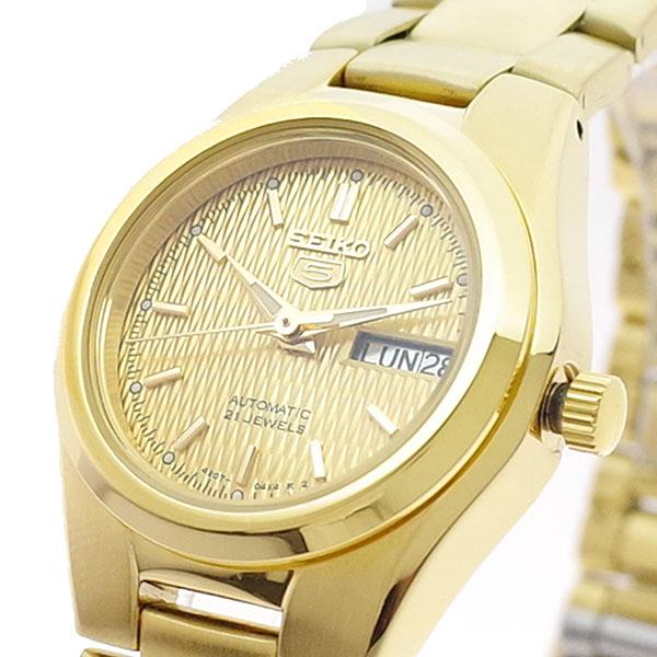 (~8 (~8/31)/31) セイコー5 セイコー SEIKO 腕時計 SYMC18K セイコー5 SEIKO5 レディース 自動巻きゴールド レディース, イケダマチ:0a66dab2 --- officewill.xsrv.jp