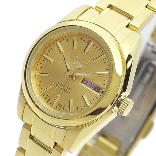 【スーパーSALE】(~9/11 01:59)(~9/30)セイコー SEIKO 腕時計 SYMK20K セイコー5 SEIKO5 自動巻き ゴールド レディース