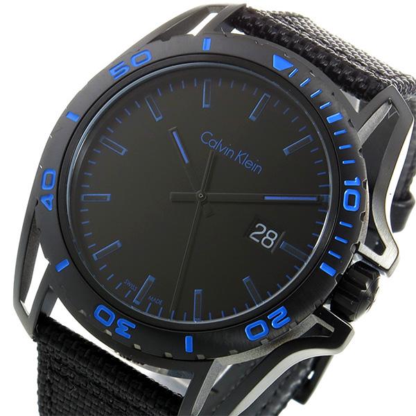 (~8 メンズ/31) クオーツ カルバンクライン CALVIN CK CALVIN KLEIN クオーツ 腕時計 K5Y31YB1 ブラック/ブルー メンズ, 橿原市:983983f2 --- officewill.xsrv.jp