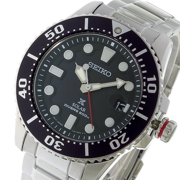 (~8/31) セイコー SEIKO SNE437P1 ブラック プロスペックス PROSPEX ソーラー クオーツ クオーツ 腕時計 SNE437P1 ブラック メンズ, L.M.A.ハワイアンジュエリー:a8ee3b2e --- officewill.xsrv.jp