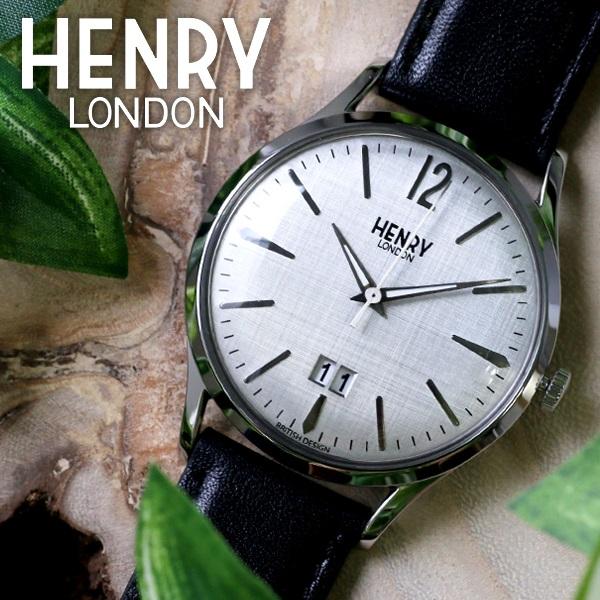 (~8/31) (~8/31) ヘンリーロンドン HENRY 41mm LONDON ピカデリー HL41-JS-0081 41mm 腕時計 HL41-JS-0081 シルバー/ブラック ユニセックス, 珍しい:ed22de69 --- officewill.xsrv.jp