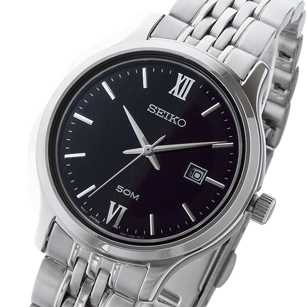 (~8 腕時計/31) セイコー (~8/31) SEIKO ネオクラシック NEO ブラック CLASSIC クオーツ 腕時計 SUR707P1 ブラック レディース, インテリア コミュニケーション:6083f9e3 --- officewill.xsrv.jp