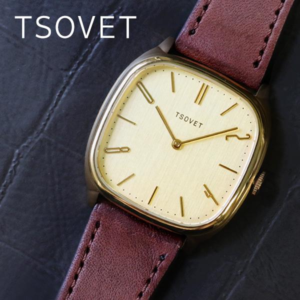 (~8/31) ソベット TSOVET JPT-TW35 クオーツ 腕時計 TW440412-04 シャンパンゴールド ユニセックス