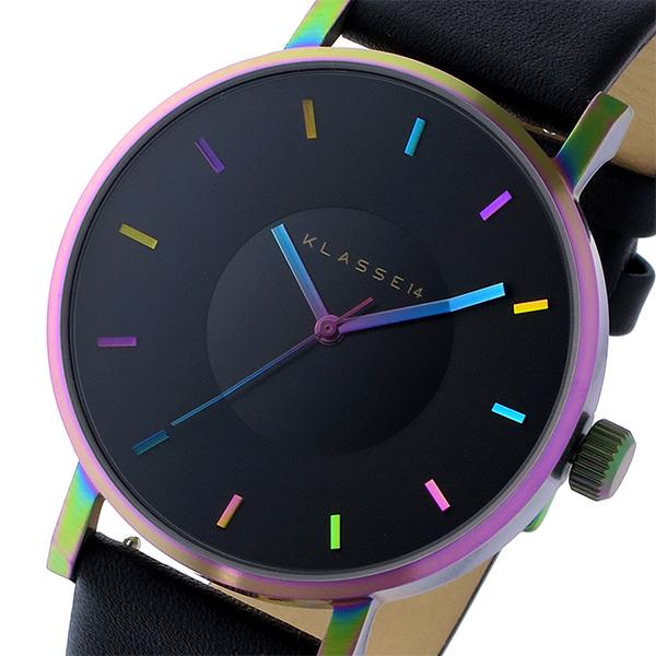 多様な (~8/31) クラス14 (~8/31) KLASSE14 ヴォラーレ Volare レインボー レインボー 42mm ブラック 腕時計 VO15TI001M ブラック ユニセックス, 鉄道模型のヤマモト:c19dca0d --- clifden10k.com