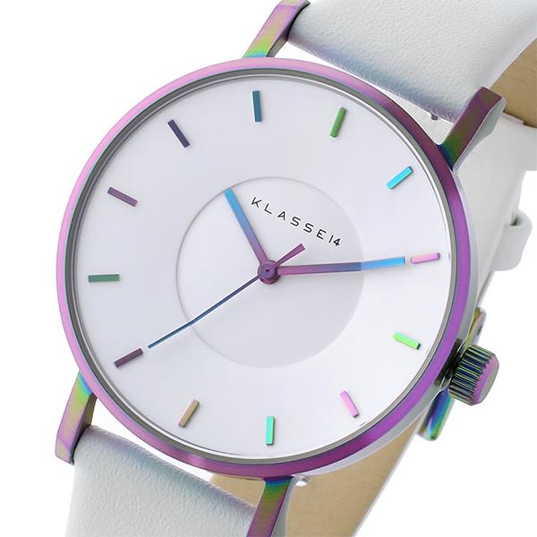 経典 (~8/31) KLASSE14 クラス14 KLASSE14 ヴォラーレ 36mm Volare レインボー 36mm 腕時計 レディース VO16TI003W ホワイト レディース, 格安人気:e6d9bd2e --- clifden10k.com