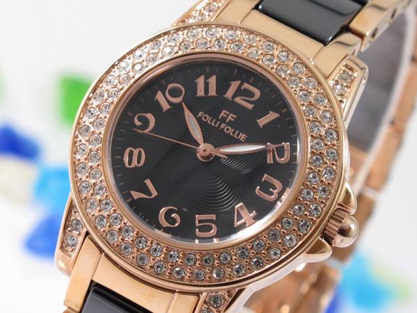 (~8 腕時計/31) フォリフォリ FOLLI FOLLI FOLLIE 腕時計 WF9B020BPK WF9B020BPK レディース, キューブBOX:9007fee6 --- officewill.xsrv.jp