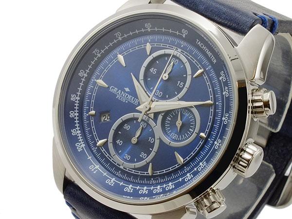 【正規取扱店】 (~8/31) グランドール プラス 腕時計 GRANDEUR PLUS グランドール クオーツ プラス クロノグラフ 腕時計 GRP001W2 メンズ, ぽんぷやさん:8f25112b --- clifden10k.com