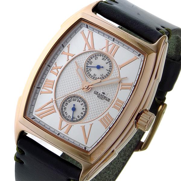 正式的 (~8/31) グランドール PLUS GRANDEUR プラス クオーツ PLUS (~8/31) クオーツ 腕時計 GRP006P1 ホワイト メンズ, FineStyle by Rakuten BRANDAVENUE:b959235d --- clifden10k.com