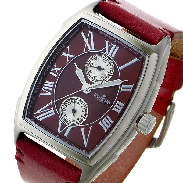 最安価格 (~8/31) グランドール GRANDEUR プラス PLUS クオーツ 腕時計 (~8/31) GRP006W2 腕時計 PLUS レッド メンズ, Authentic Gallery ark:49981bcc --- clifden10k.com