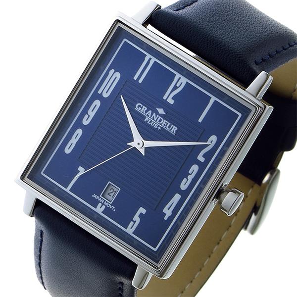 格安販売の (~8 腕時計/31) PLUS グランドール GRANDEUR GRP009W2 プラス PLUS クオーツ 腕時計 GRP009W2 ネイビー ユニセックス, 石岡市:aed841c7 --- clifden10k.com