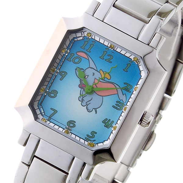 上質で快適 (~8/31) ディズニーウオッチ Disney Watch クオーツ 腕時計 ダンボ MC-1612-DM ダンボ クオーツ Disney レディース, Reliable Osaka-Noe Shop:a1ec53ae --- clifden10k.com