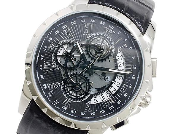 【セール 登場から人気沸騰】 (~8/31) クオーツ サルバトーレマーラ SALVATORE MARRA クオーツ 腕時計 SALVATORE SM13119S-SSBK 腕時計 メンズ, ノーティー:df7a105c --- clifden10k.com