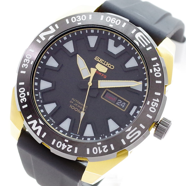 【スーパーSALE】(~9/11 01:59)(~9/30)セイコー SEIKO 腕時計 SRP1750J1 SEIKO5 自動巻き ブラック メンズ