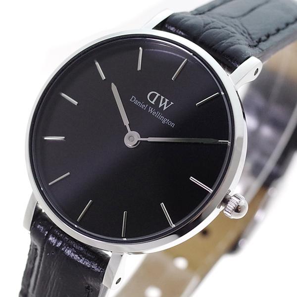 (~4/30)【キャッシュレス5%】ダニエルウェリントン DANIEL WELLINGTON 腕時計 DW00100235 クォーツ ブラック レディース
