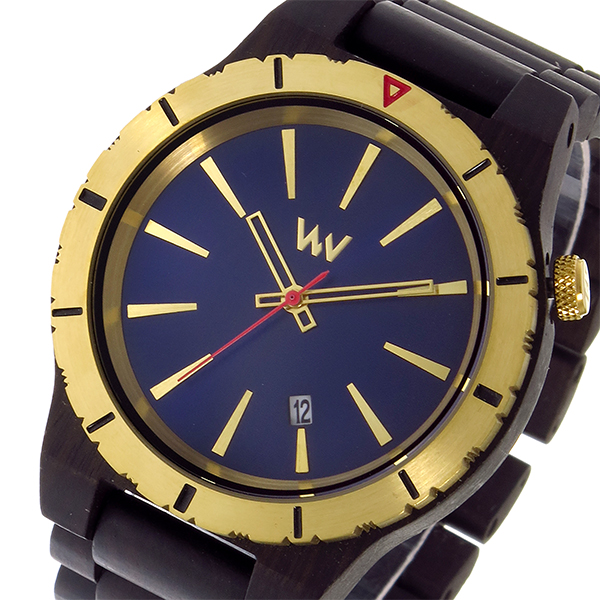 (~8 国内正規/31) (~8/31) ウィーウッド WEWOOD ASSUNT MB BLUE 腕時計 GOLD クオーツ 腕時計 9818134 ネイビー 国内正規 メンズ, ファッションアクセサリー ノア:590bbffa --- officewill.xsrv.jp