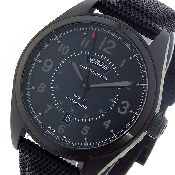 驚きの安さ (~8/31) ブラック 自動巻き ハミルトン HAMILTON カーキ フィールド KHAKI 自動巻き 腕時計【代引き不可】 H70695735 ブラック メンズ【代引き不可】, トップマート:a664c2bd --- clifden10k.com