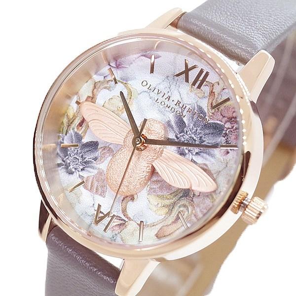 (~4/30)【キャッシュレス5%】オリビアバートン OLIVIA BURTON 腕時計 OB16CS19 クォーツ ホワイト グレー レディース