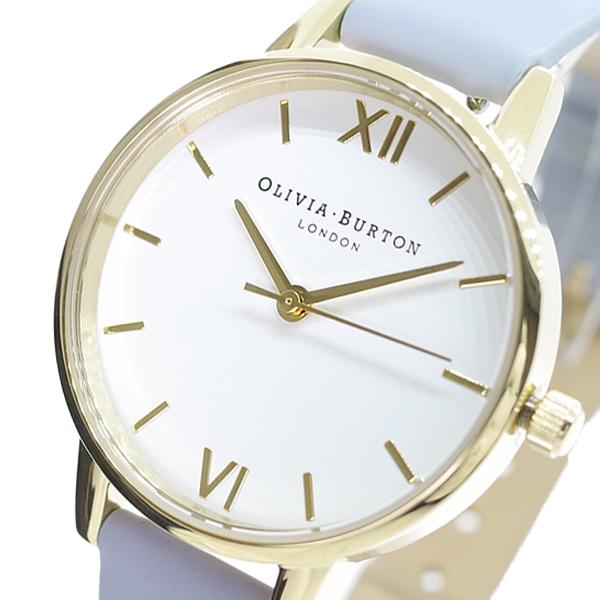 (~4/30)【キャッシュレス5%】オリビアバートン OLIVIA BURTON 腕時計 OB16MDW24 クォーツ ホワイト チョークブルー レディース