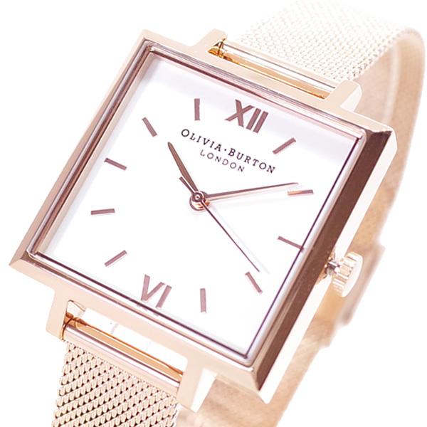 【スーパーSALE】(~9/11 01:59)(~9/30)オリビアバートン OLIVIA BURTON 腕時計 OB16SS10 クォーツ ホワイト ピンクゴールド レディース