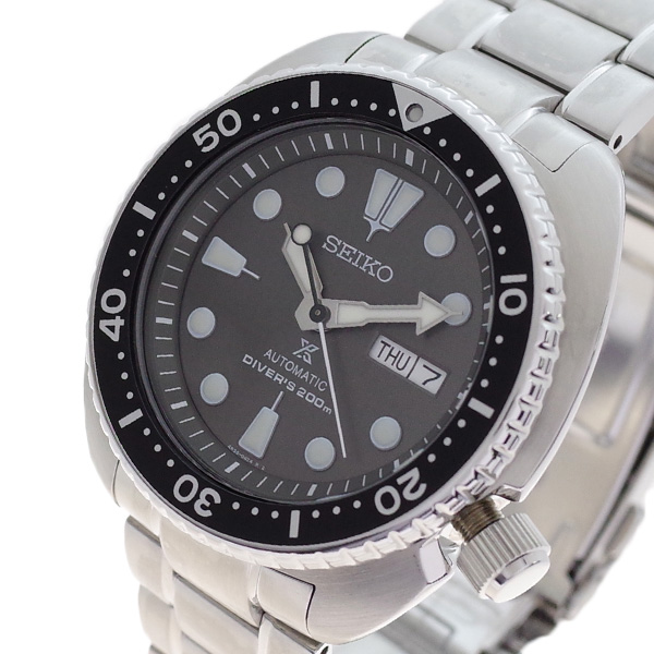 (~4/30)【キャッシュレス5%】セイコー SEIKO 腕時計 SRPC23K1 プロスペックス PROSPEX 自動巻き ブラック シルバー メンズ