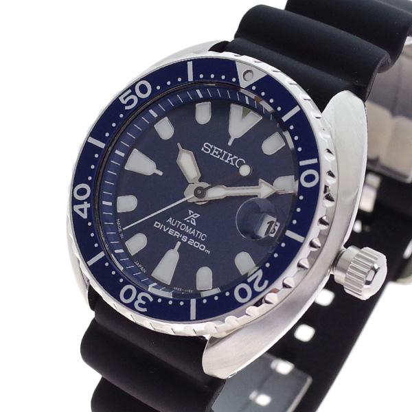 (~4/30)【キャッシュレス5%】セイコー SEIKO 腕時計 SRPC39J1 プロスペックス PROSPEX 自動巻き ネイビー ブラック メンズ