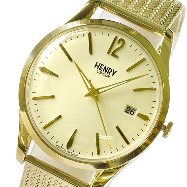 (~8/31) ヘンリーロンドン HENRY HENRY LONDON ウェストミンスター WESTMINSTER 腕時計 38mm 腕時計 WESTMINSTER HL39M0008 アイボリー/イエローゴールド ユニセックス, 空手瓦:6f15b42d --- officewill.xsrv.jp