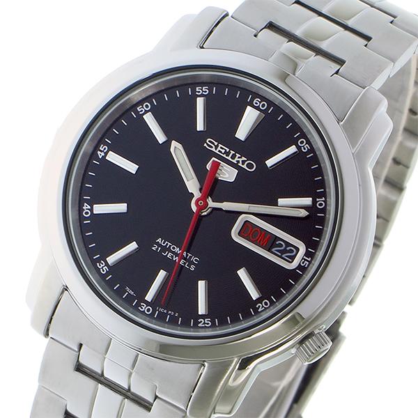 (~8/31) ブラック セイコー SEIKO セイコー5 SEIKO (~8/31) 5 自動巻き 腕時計 セイコー5 SNKL83K1 ブラック メンズ, 西白河郡:1fa736d0 --- officewill.xsrv.jp