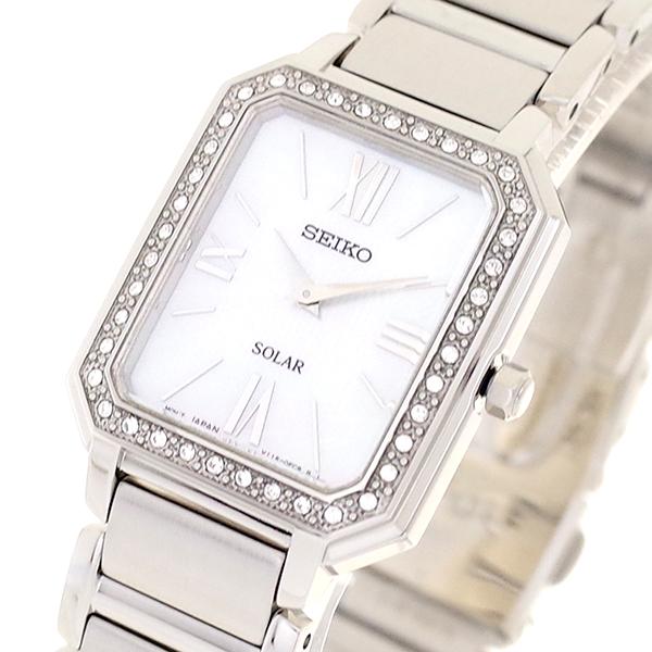 【スーパーSALE】(~9/11 01:59)(~9/30)セイコー SEIKO 腕時計 SUP427P1 クォーツ オーロラ シルバー レディース
