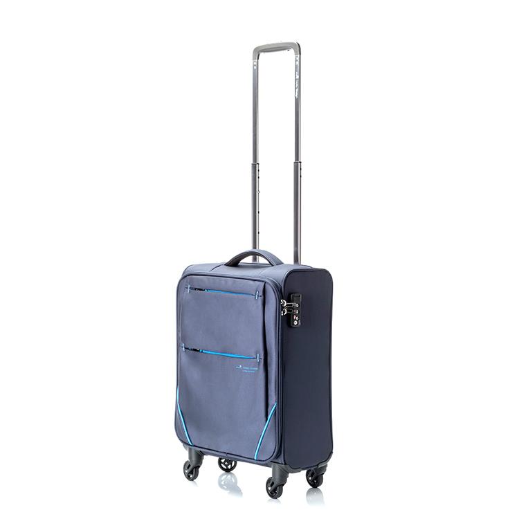 (~4/30 23:59) ヒデオワカマツ HIDEO WAKAMATSU フライ スーツケース 85-76002 ネイビー 【ラッピング不可】 【代引き不可】