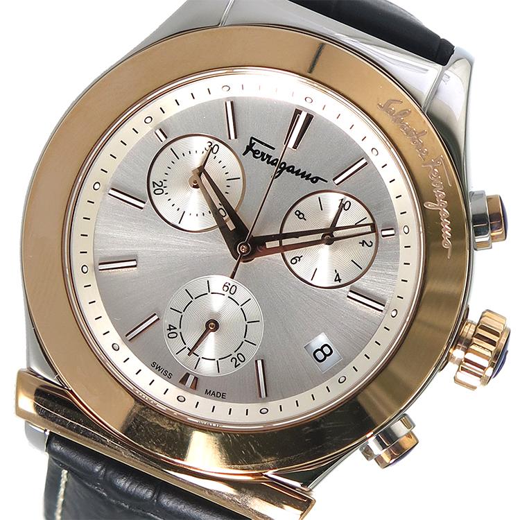 (~8 腕時計/31) サルヴァトーレ フェラガモ Ferragamo (~8/31) 腕時計 FH6040016 シルバー メンズ FH6040016【代引き不可】, アシベツシ:0cc86994 --- officewill.xsrv.jp