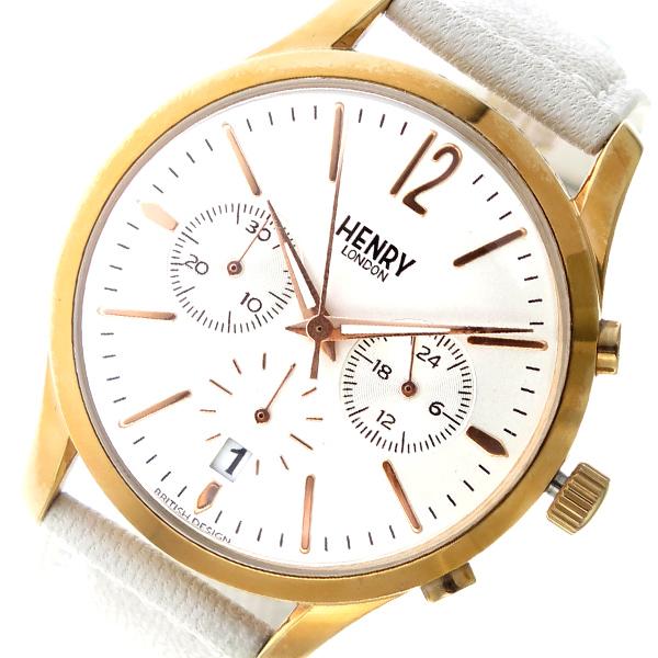 (~8/31) ヘンリーロンドン 腕時計 HENRY LONDON クオーツ HENRY 腕時計 HL39-CS-0126 HL39-CS-0126 ホワイト ユニセックス, 米 餅 おかき工房:6c1f3fa4 --- officewill.xsrv.jp