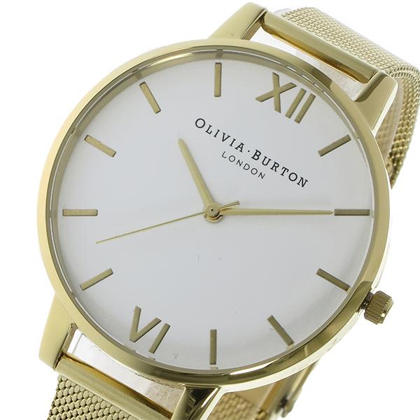 【スーパーSALE】(~9/11 01:59)(~9/30)オリビアバートン OLIVIA BURTON クオーツ 腕時計 OB15BD84 ホワイト レディース