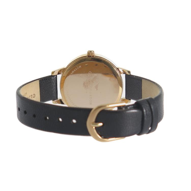 【エントリーでポイント3倍】(~4/16 01:59) 【ポイント2倍】(~4/30 23:59) オリビアバートン OLIVIA BURTON 腕時計 OB15MD39 ピンクゴールド×ブラック レディース