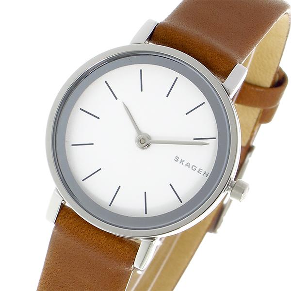 【期間限定】(~9/1 23:59) スカーゲン SKAGEN クオーツ 腕時計 SKW2440 ホワイト レディース