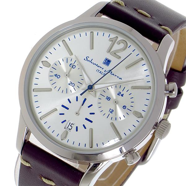 (~8 シルバー/31) サルバトーレマーラ 腕時計 SALVATORE MARRA クオーツ 腕時計 SM17110-SSWH SM17110-SSWH シルバー ユニセックス, 品多く:226cf36a --- officewill.xsrv.jp