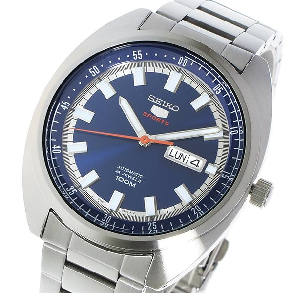 (~8 SEIKO/31) セイコー SEIKO セイコー5 SEIKO 5 SEIKO 自動巻きメンズ 腕時計 SRPB15K1 SRPB15K1 ブルー メンズ, 美容材料:44b587a1 --- officewill.xsrv.jp