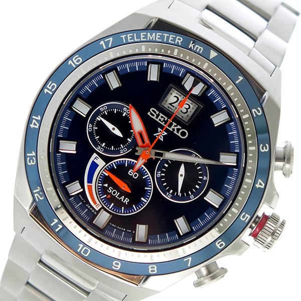 【スーパーSALE】(~9/11 01:59)(~9/30)セイコー SEIKO プロスペックス PROSPEX ソーラー 腕時計 SSC601P1 ネイビー メンズ