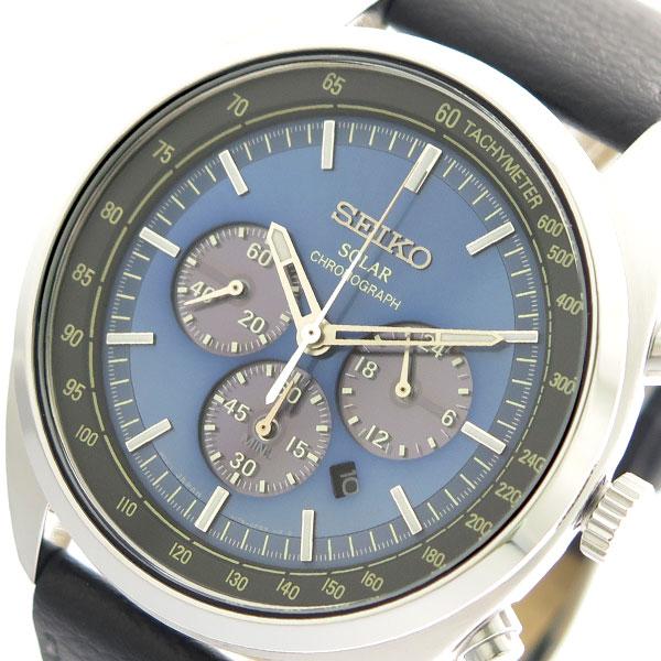 (~4/30)【キャッシュレス5%】セイコー SEIKO クオーツ 腕時計 SSC625P1 ブルー メンズ