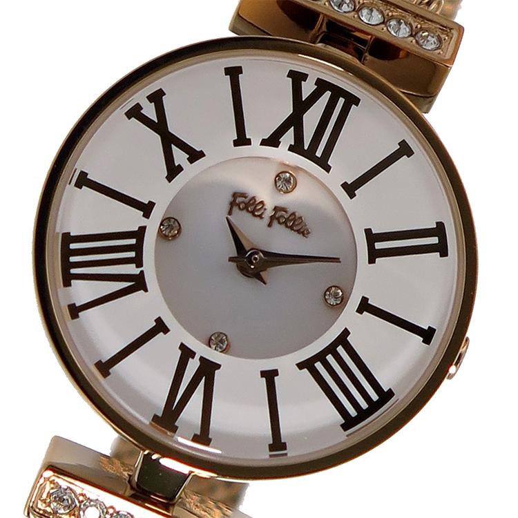 (~8 ホワイト/31) フォリフォリ FOLLI FOLLIE クオーツ 腕時計 腕時計 WF15B028BSM ホワイト レディース レディース, musicfarm:811de38e --- officewill.xsrv.jp