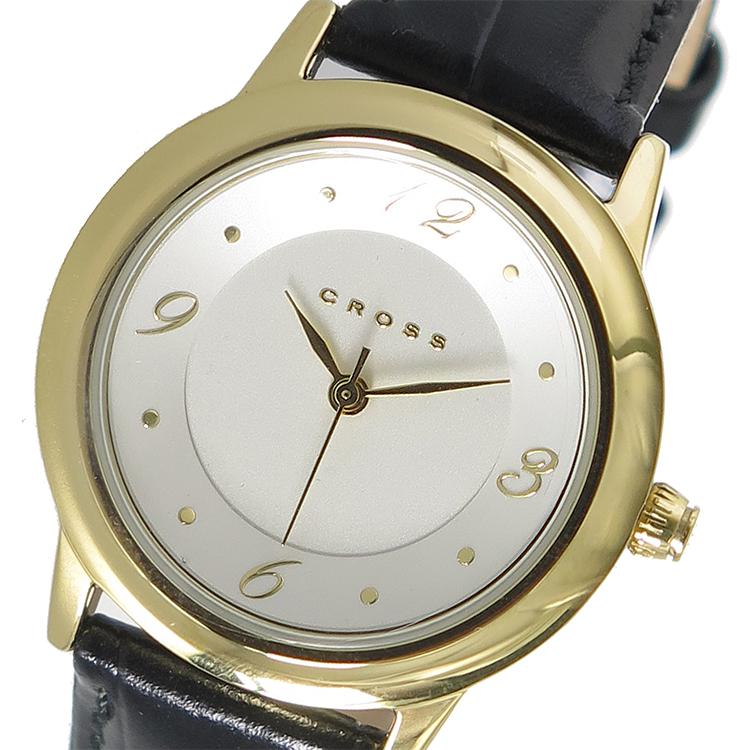 【大感謝祭】(~12/26 01:59)(~12/25)【キャッシュレス5%】クロス CROSS クオーツ 腕時計 WFAK25 シルバー レディース