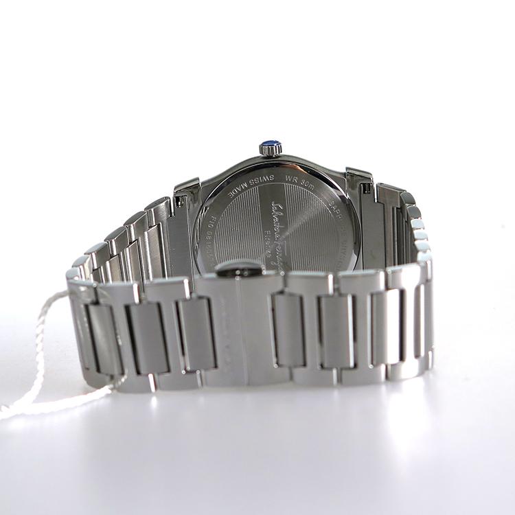 【期間限定】【エントリーでポイント3倍×ポイントアップ2倍】(7/21 10:00~7/24 09:59) サルヴァトーレ フェラガモ Ferragamo ヴェガ クオーツ 腕時計 FI0990014 シルバー メンズ 【代引き不可】