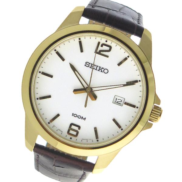 (~8/31) セイコー ホワイト SEIKO クオーツ セイコー 腕時計 SEIKO SUR252P ホワイト メンズ, 上質で快適:462e9c4e --- officewill.xsrv.jp