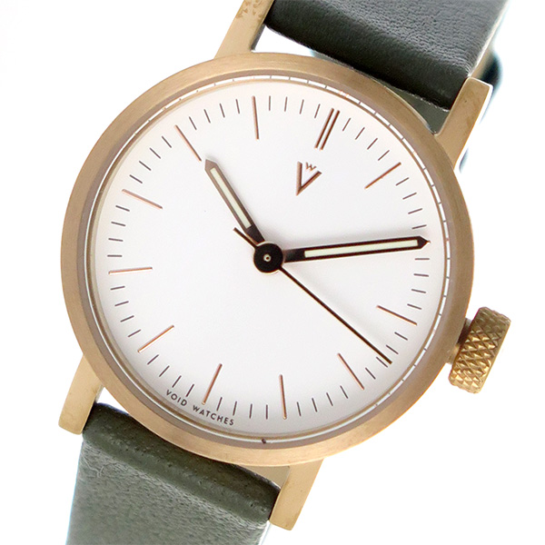 (~8/31) ピーオーエス POS ヴォイド ピーオーエス レディース VOID V03P-CO/OL/WH ヴォイド 腕時計 ホワイト カーキ レディース, 階上町:2bee38e9 --- officewill.xsrv.jp