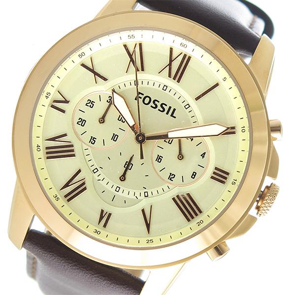 (~8/31) (~8/31) フォッシル FS4991 FOSSIL クオーツ 腕時計 クオーツ FS4991 アイボリー メンズ, 北村山郡:2b6c619b --- officewill.xsrv.jp
