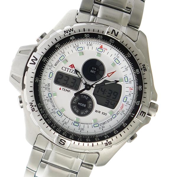 (~8/31) シチズン CITIZEN デジタル クオーツ JS1040-51A クオーツ 腕時計 JS1040-51A ホワイト (~8/31) メンズ, ミスミマチ:9012ee79 --- officewill.xsrv.jp