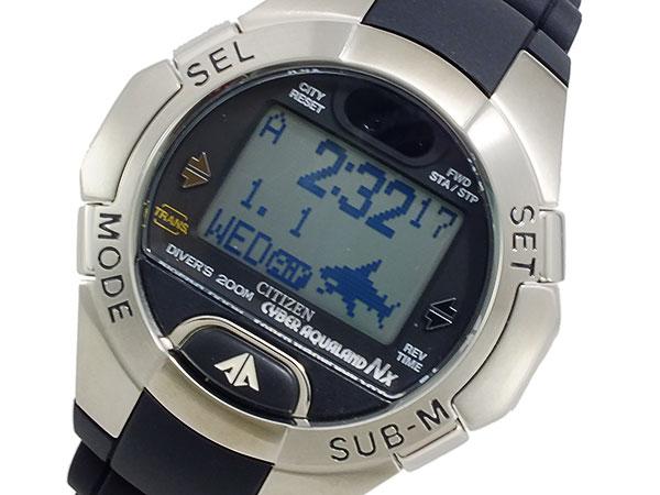 【スーパーSALExポイントアップ】(3/4 20:00~3/11 01:59)【ポイント2倍】(~3/31)【キャッシュレス5%】シチズン CITIZEN プロマスター デジタル ダイバーズ 腕時計 MG1000-10FT メンズ 【き】【ラッピング】