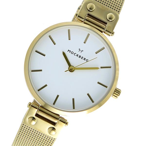 (~8/31) ホワイト モックバーグ MOCKBERG クオーツ 腕時計 MO1601 レディース 腕時計 ホワイト レディース, ナチュラルスタイルナナ:11da2611 --- officewill.xsrv.jp