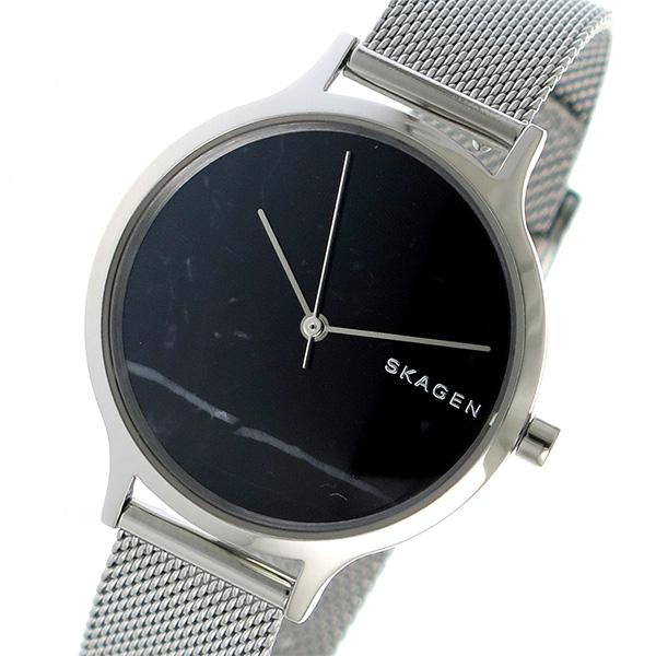(~4/30)【キャッシュレス5%】スカーゲン SKAGEN アニータ ANITA クオーツ 腕時計 SKW2673 ブラック レディース