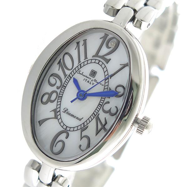 (~8/31) サルバトーレマーラ MARRA SALVATORE MARRA クオーツ 腕時計 SM17152-SSWH SM17152-SSWH 腕時計 ホワイトシェル レディース, 福岡市:541e2424 --- officewill.xsrv.jp